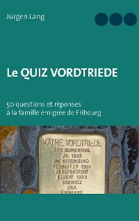 Cover Le Quiz Vordtriede