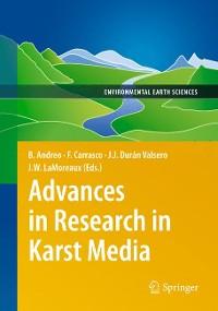 Cover Advances in Research in Karst Media