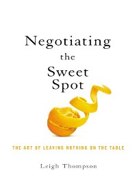 Cover Negotiating the Sweet Spot