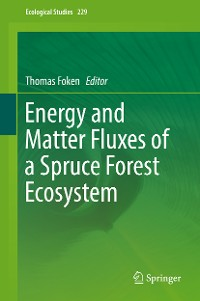 Cover Energy and Matter Fluxes of a Spruce Forest Ecosystem