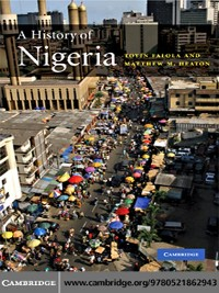 Cover A History of Nigeria