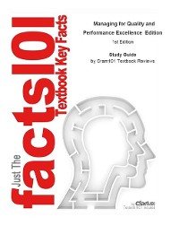 Cover Managing for Quality and Performance Excellence  Edition