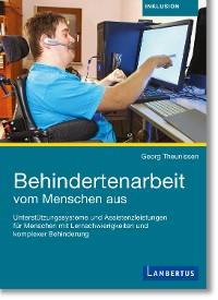 Cover Behindertenarbeit vom Menschen aus