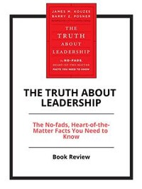Cover The Truth About Leadership