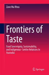Cover Frontiers of Taste