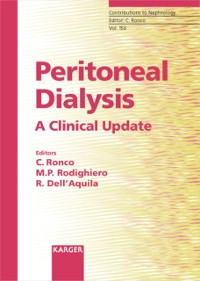 Cover Peritoneal Dialysis: A Clinical Update