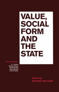 Cover Value  Social Form And The State