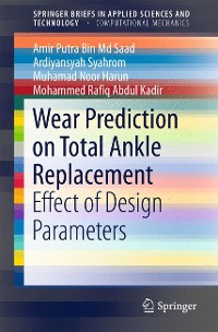 Cover Wear Prediction on Total Ankle Replacement
