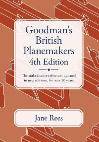Cover Goodman's British Planemakers