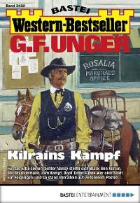 Cover G. F. Unger Western-Bestseller 2438 - Western