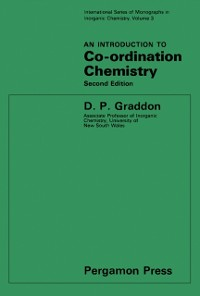 Cover Introduction to Co-Ordination Chemistry