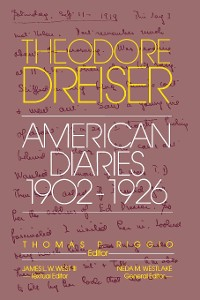 Cover The American Diaries, 1902-1926