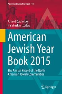 Cover American Jewish Year Book 2015