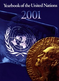 Cover Yearbook of the United Nations 2001