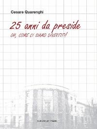 Cover 25 anni da preside