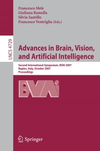 Cover Advances in Brain, Vision, and Artificial Intelligence