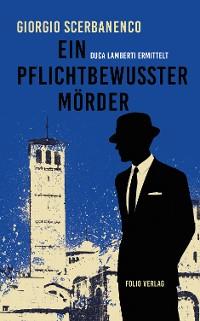 Cover Ein pflichtbewusster Mörder