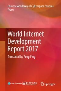 Cover World Internet Development Report 2017