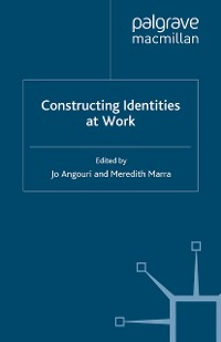 Cover Constructing Identities at Work