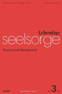 Cover Lebendige Seelsorge 3/2018