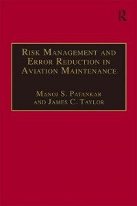 Cover Risk Management and Error Reduction in Aviation Maintenance