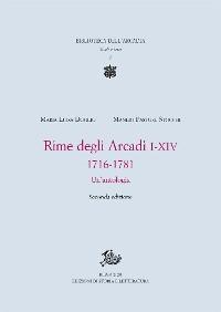 Cover Rime degli Arcadi I-XIV, 1716-1781