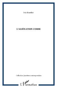 Cover L'alienation corse