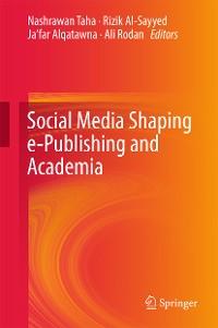 Cover Social Media Shaping e-Publishing and Academia