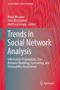 Cover Trends in Social Network Analysis