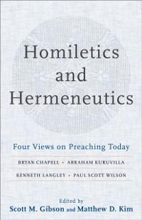 Cover Homiletics and Hermeneutics