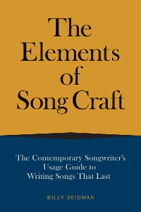 Cover The Elements of Song Craft