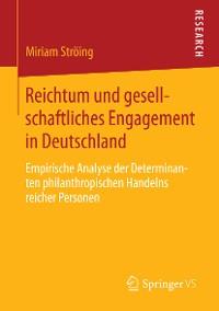 Cover Reichtum und gesellschaftliches Engagement in Deutschland