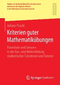Cover Kriterien guter Mathematikübungen