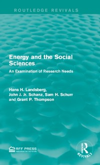 Cover Energy and the Social Sciences