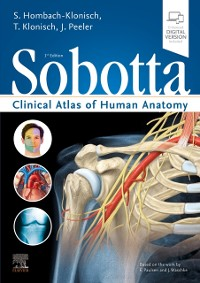 Cover Sobotta Clinical Atlas of Human Anatomy, one volume, English