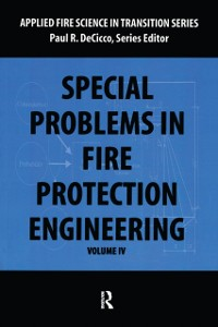 Cover Special Problems in Fire Protection Engineering