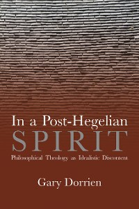 Cover In a Post-Hegelian Spirit