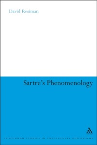 Cover Sartre's Phenomenology