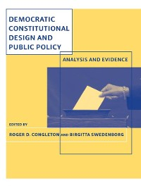 Cover Democratic Constitutional Design and Public Policy