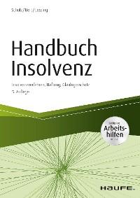 Cover Handbuch Insolvenz - inkl. Arbeitshilfen online