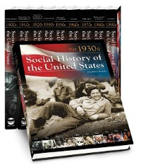 Cover Social History of the United States [10 volumes]