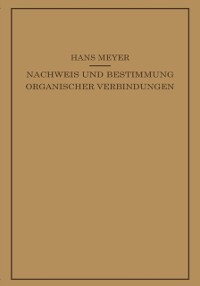 Cover Lehrbuch der Organisch-Chemischen Methodik