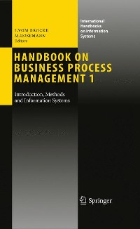 Cover Handbook on Business Process Management 1