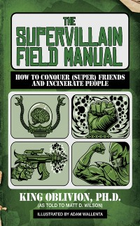 Cover Supervillain Field Manual