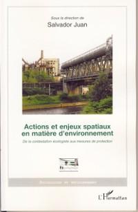Cover Actions et enjeux spatiaux en matiere d'environnement