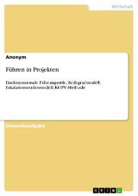 Cover Führen in Projekten