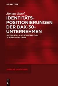 Cover Identitatspositionierungen der DAX-30-Unternehmen