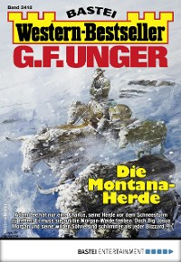 Cover G. F. Unger Western-Bestseller 2418 - Western