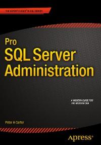 Cover Pro SQL Server Administration