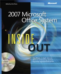 Cover 2007 Microsoft(R) Office System Inside Out